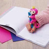 fingerlings ouistiti scimmietta rosa