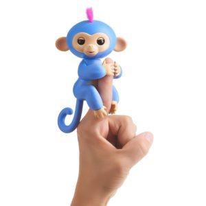 liv singe interactif fingerlings bleu pervenche